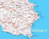 Casa Vacanze Marina di Ragusa - cartine della provincia di ragusa - foto #0